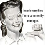 I'm a community manager