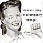 I'm a community manager