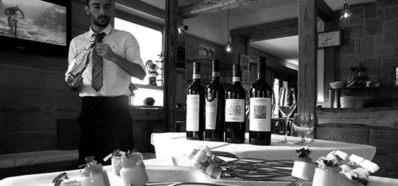 Vinsmagning i Livigno